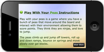 Play With Your Peas Screenshot 4